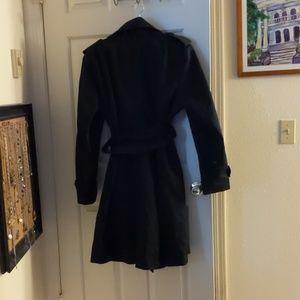Worthington Jackets & Coats - Worthington Black Classic Heavy Trench XL